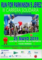 III Carrera Solidaria Run for Parkinson´s Jerez JUNIOR A VETERANO