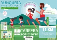 Carrera Solidaria de Yunquera JUNIOR A VETERANO