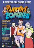 I Carrera Solidaria Alcer Runners VS Zombies DORSAL SOLIDARIO